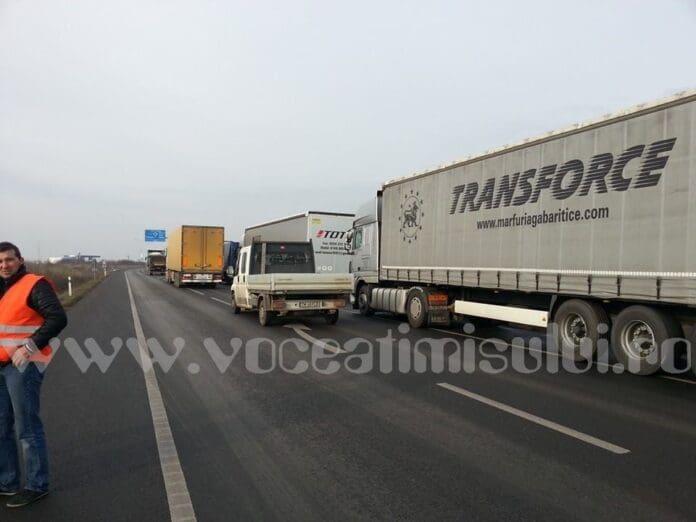 greva-transportatori-camioane-tiruri-soseaua-de-centura-timisoara-7