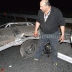 Doi-ţigani-au-blocat-traficul-pe-autostrada-A107