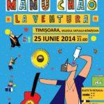 Cântăreţul francez Manu Chao, headliner la pre-evenimentul Plai 2014, Vocea Timisului