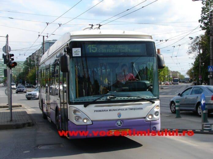 competitie sportiva, O competitie sportiva da peste cap orarul unor mijloace de transport din Timisoara