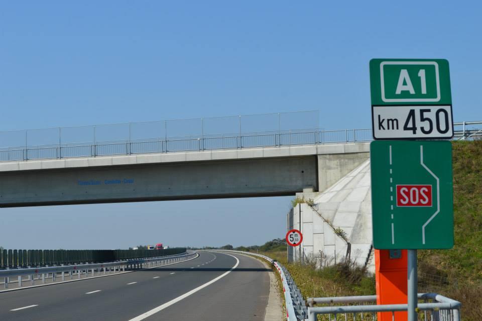 autostrada-A1-la-kilometrul-450-1