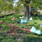 """Loc de joacă pentru copiii de la școala… părăsită! Se întâmplă în satul Stamora Română, la """"ordinul"""" primarului Koller FOTO/VIDEO, Vocea Timisului"""