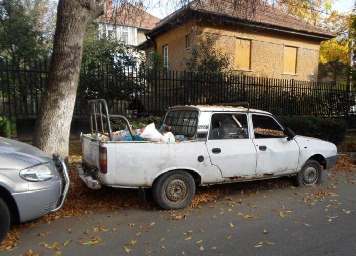 masini abandonate