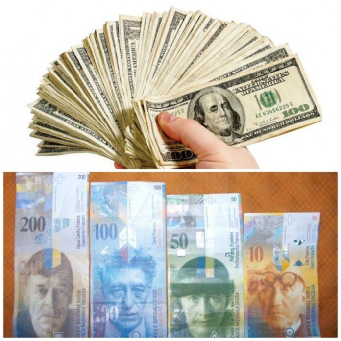 dolari-si-franci-elvetieni