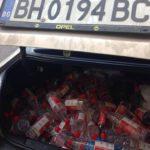 Polițiștii-rutieri-au-deturnat-o-mașină-plină-cu-ALCCOL-la-Recaș-3