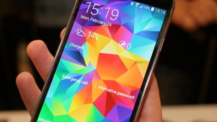 Smartphone-Samsung-telefon