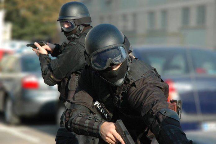 Politia-arma-pistol