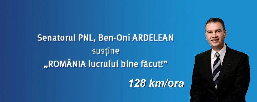 EXCLUSIV Senatorul PNL Ben-Oni Ardelean, surprins de RADAR cu 128 km/h pe Calea Lugojului. Cât timp a rămas pieton, Vocea Timisului