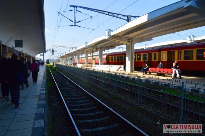 Gara-de-Nord-Timioara-peron-tren