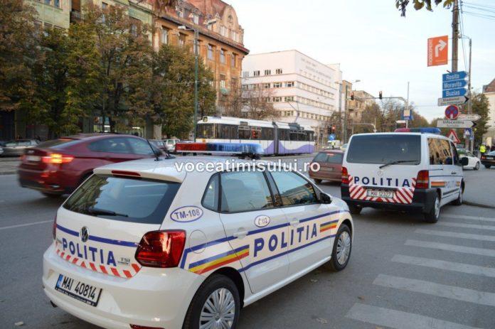 Hoti prinsi de politisti dupa ce au furat bunuri dintr-o masina, la Timisoara, Vocea Timisului