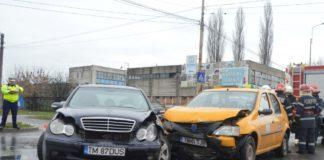 Accident rutier Calea Stan Vidrighin și bulevardul Francesco Illy