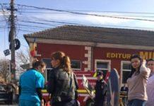 Accident pe strada Simion Bărnuțiu