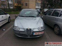 Autoturism-vandalizat-in-Piata-Dacia-din-Timisoara5