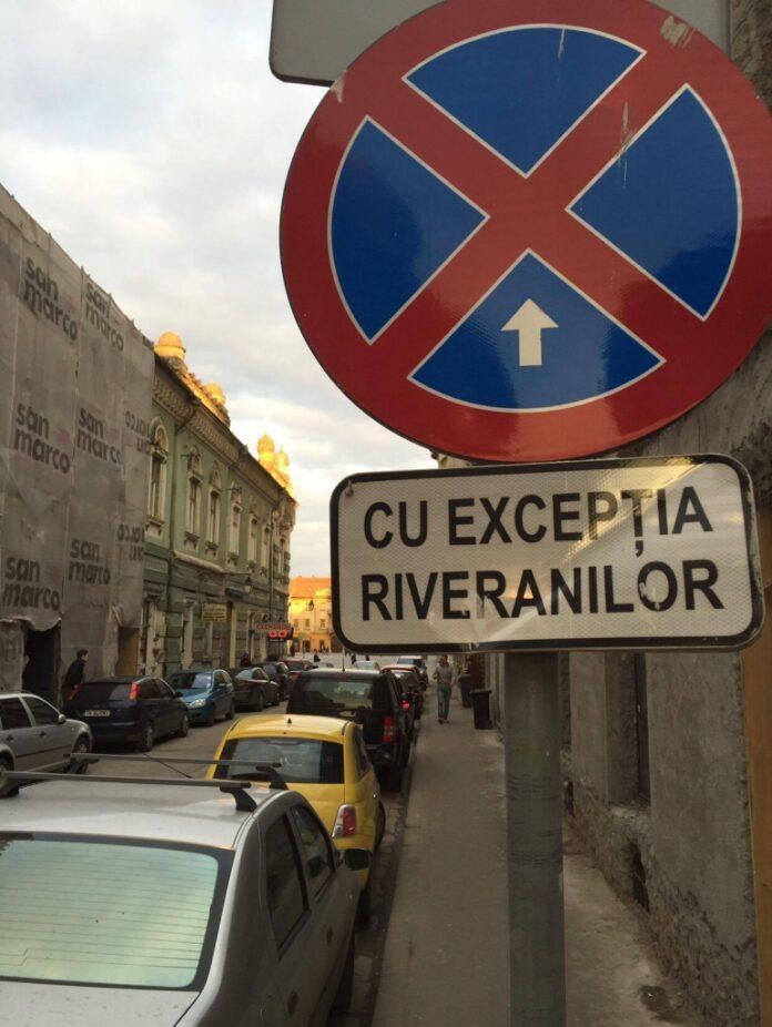Liber-la-parcare-pe-strada-Gheorghe-Lazăr1