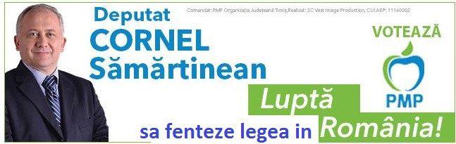 Politicienii mint şi în trafic: deputatul Cornel Sămărtinean şi-a amintit după o săptămână, că el a lovit un bărbat pe trecerea de pietoni!, Vocea Timisului