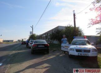 Polițiștii rutieri din Timișoara
