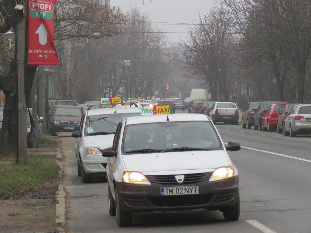 Protest Taximetristi: Pentru Ce Vor Fi Amendati Taximetristii Care Au Protestat