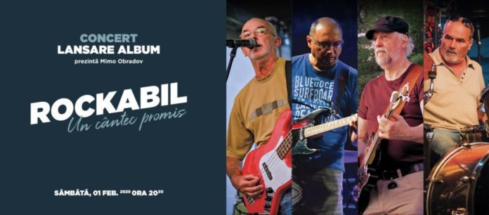 Trupa Rockabil isi lanseaza noul album LIVE, la Timisoara, Vocea Timisului