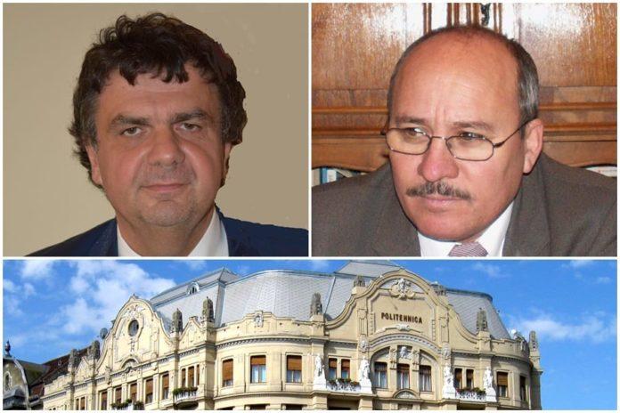 functia de rector al Universitatii Politehnice din Timisoara