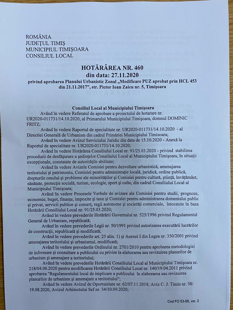 Să vină ANI! Primarul-debitor Dominic Fritz a semnat în beneficiul consilierului-creditor Răzvan Negrișanu 3