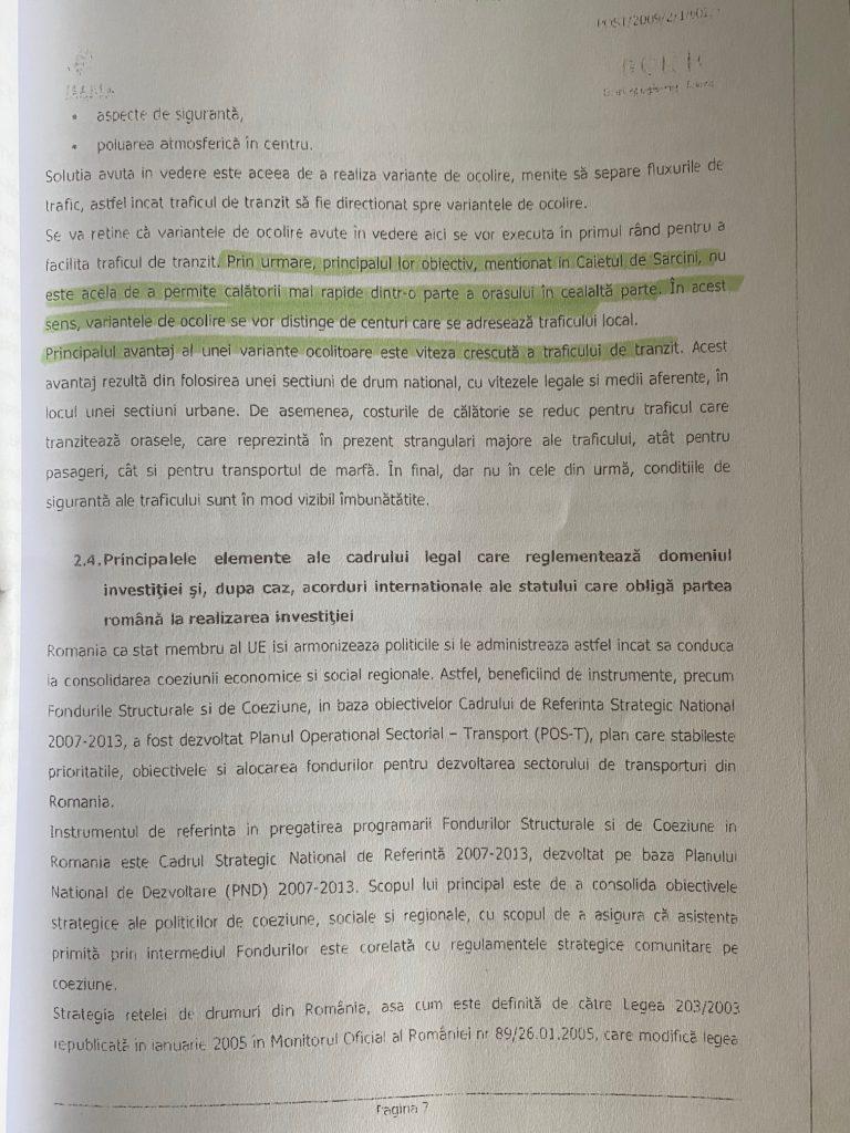 Șoc și groază! DNA Timișoara cercetează interesele imobiliare care stau în spatele relocării variantei de ocolire a centurii Timișoara Sud 4