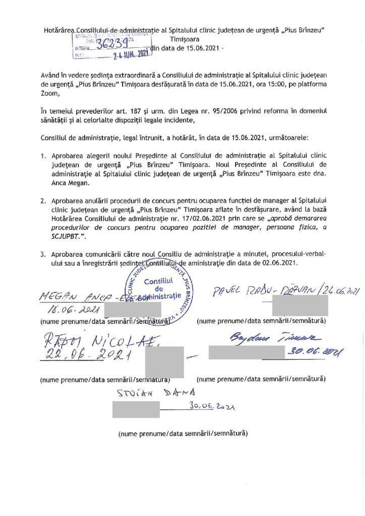 James B(l)ond! Concursul pentru funcția de manager al Spitalului Județean Timișoara s-a anulat dar e…SECRET 1