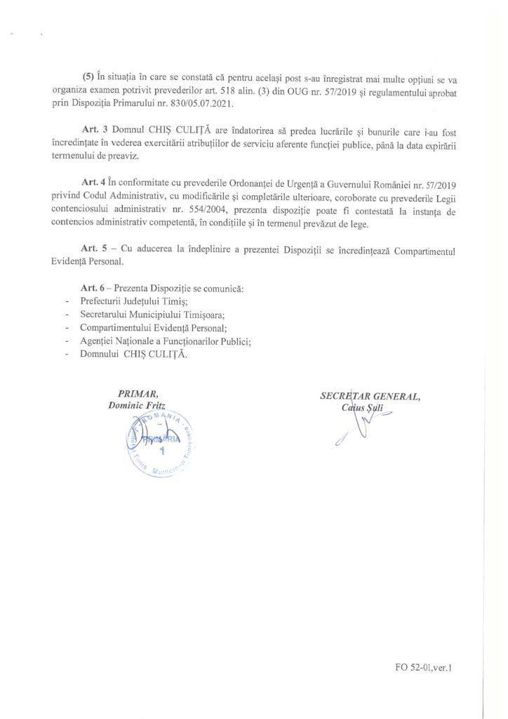 """Șantaj pe față! Viceprimarul Ruben Lațcău l-a amenințat pe Culiță Chiș că-i scoate """"mizeriile"""" dacă nu demisionează din funcția de director 3"""